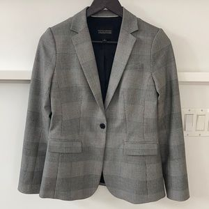 Banana Republic Long & Lean One Button Blazer